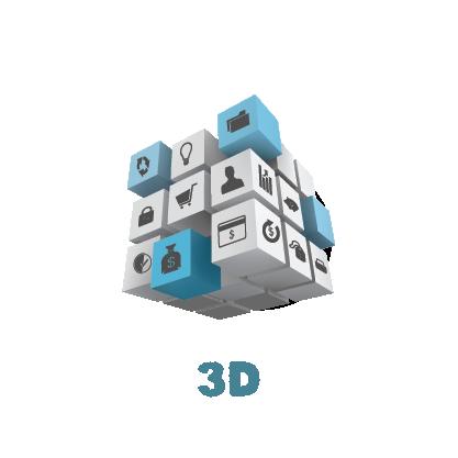 3D ikona